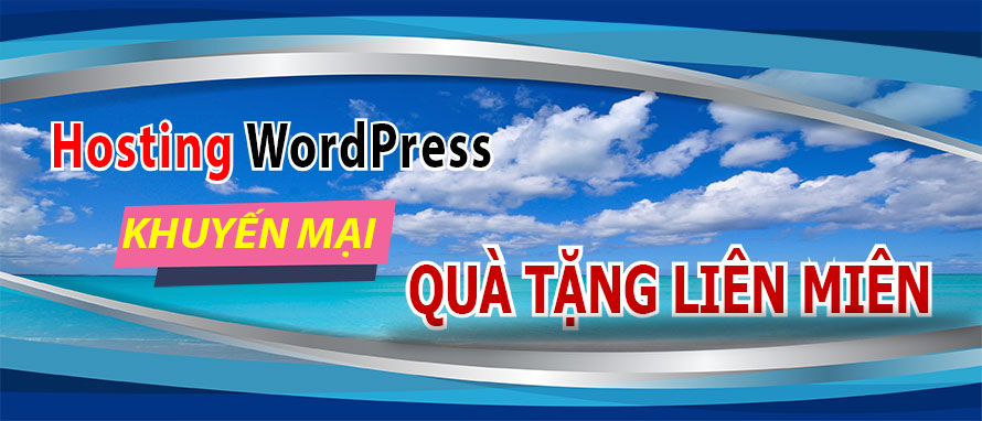 Khuyến mãi hosting wordpress