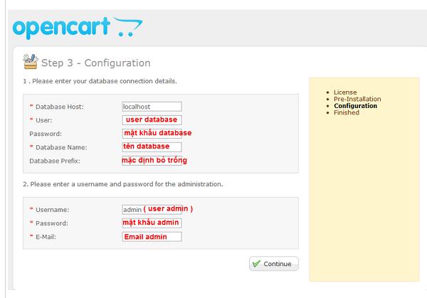 hệ thống sẽ kiểm tra các yêu cầu phiên bản và trạng thái hệ thống tương thích với mã nguồn