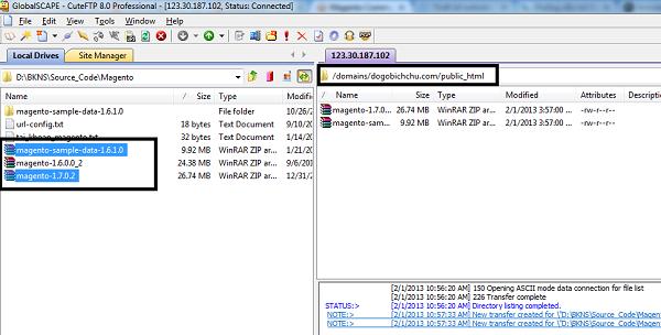 Upload lên hosting theo đường dẫn domains/tendomain/public_html