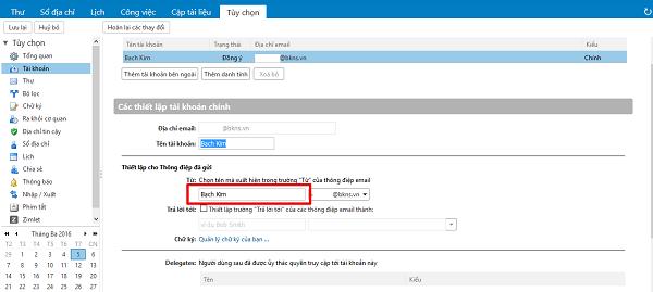 Thay đổi mật khẩu Webmail