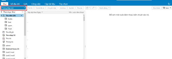 Quản lý Email Cloud