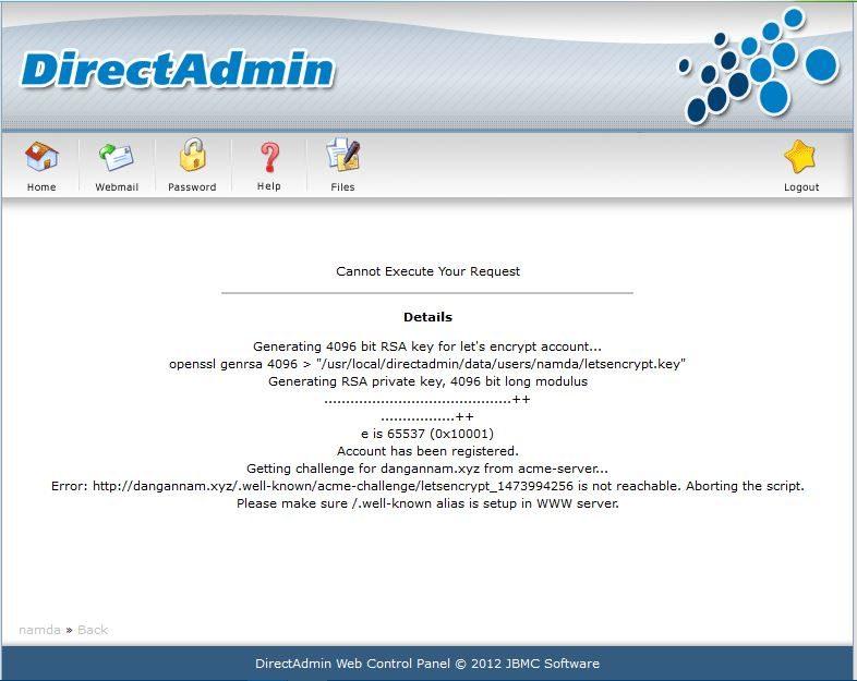 Hướng dẫn tạo SSL miễn phí trên Hosting linux hoặc VPS sử dụng