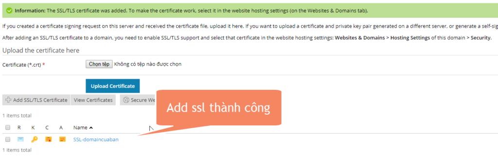 Hình ảnh hosting sẽ chuyển hướng về trang SSL