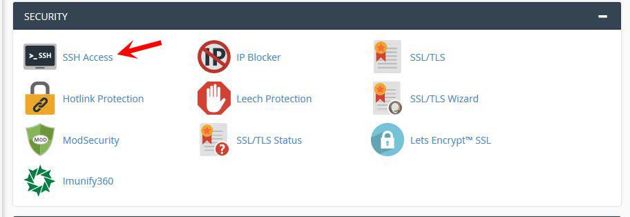 Hướng dẫn SSH Hosting Cpanel