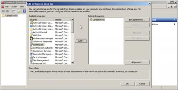 hướng dẫn cài đặt SSL cho Exchange 2010 2