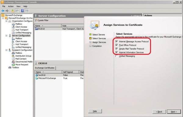 hướng dẫn cài đặt SSL cho Exchange 2010 7