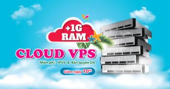 Khuyến mãi Cloud VPS
