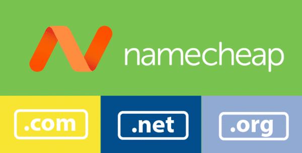 NameCheap là nhà cung cấp tên miền giá rẻ, chất lượng