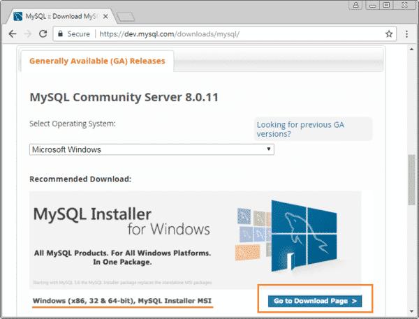 Cài đặt MySQL Server trên Windows