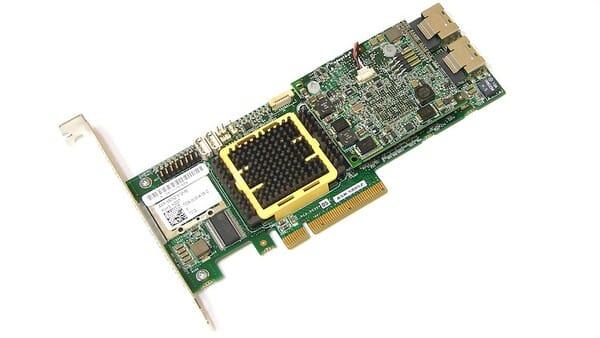 Card đồ hoạ là bộ phận mang chức năng xử lý nội dung hình ảnh trong máy chủ.