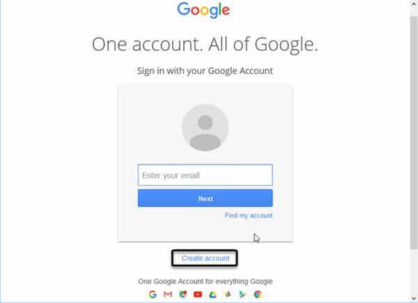 Đăng ký Email trên Gmail