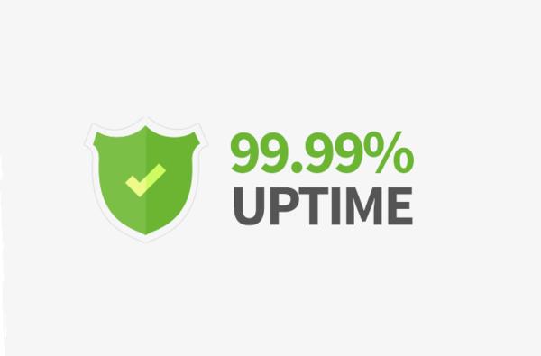 Nên chọn nhà cung cấp cam kết Uptime đạt 99,99%