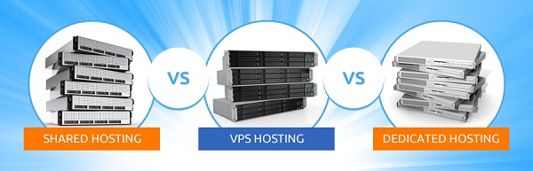 So sánh giữa sharehost, VPS và host chuyên dụng