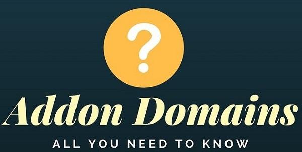 Ưu điểm về tên miền Addon domain