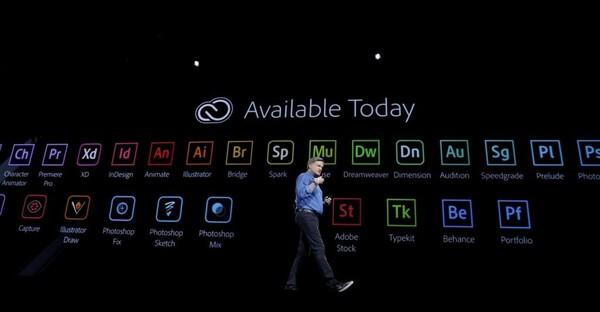 Adobe Creative Cloud có hơn 20 ứng dụng