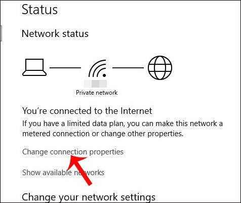 Các bước đổi DNS Google IPv6 2