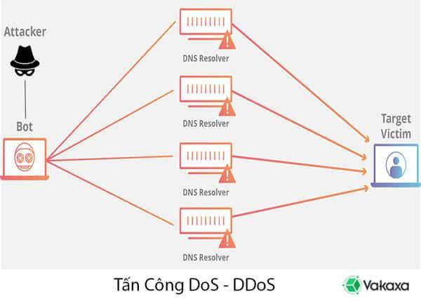 Các kiểu tấn công từ chối dịch vụ Dos và DDos hiện nay