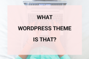 Cách Check Theme WordPress bằng What WordPress theme Is That