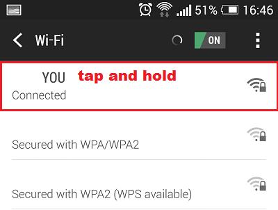 Cách đổi DNS Server trên thiết bị Android 2