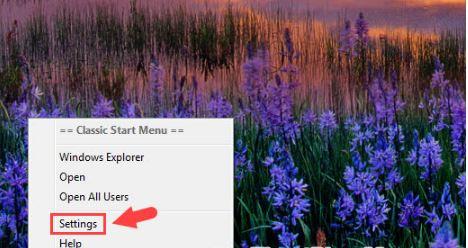 Cách dùng Classic Shell để tuỳ chỉnh menu trên Windows 7,8,10