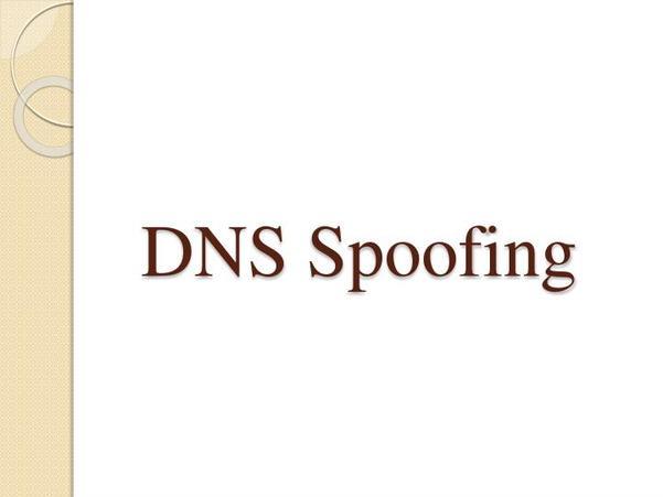 DNS Spoofing là gì?