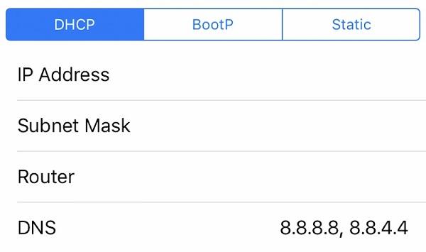 Thay đổi DNS Google cho iPhone giúp quá trình truy cập mạng nhanh chóng và hiệu quả hơn