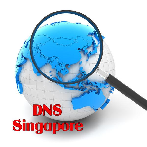 Các bước đổi DNS Singapore