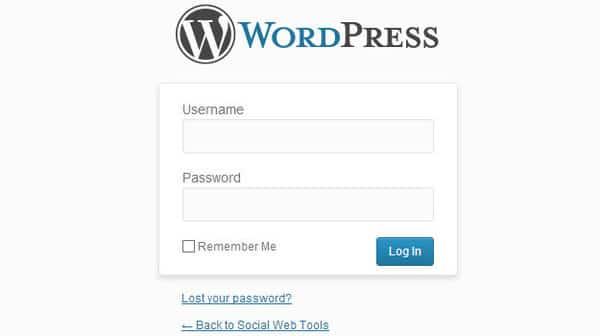 Hướng dẫn cách đăng nhập wordpress 1