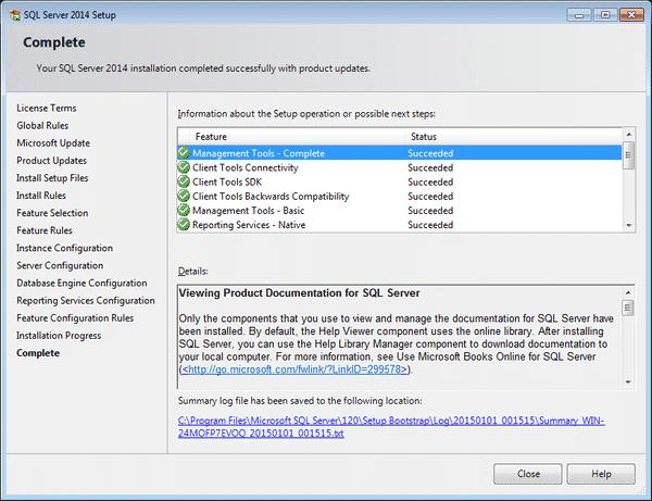 Hướng dẫn và cài đặt SQL Server