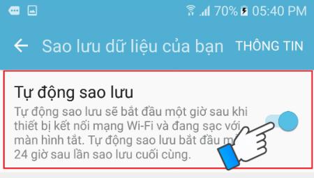 Hướng dẫn sử dụng Samsung Cloud để sao lưu dữ liệu 4