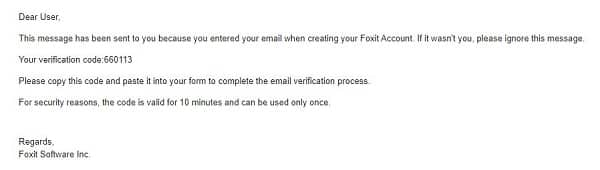 Hướng dẫn tạo tài khoản Foxit Cloud