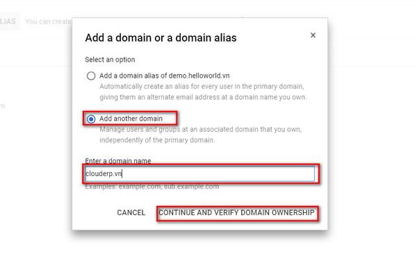 Hướng dẫn thêm bản ghi TXT bên dưới vào cấu hình DNS 3
