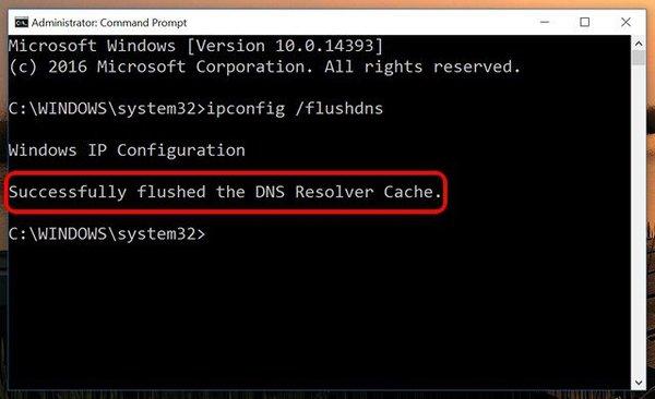 Hướng dẫn xóa cache dns trên Windows 10 4