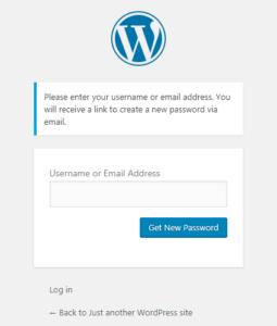 Lưu ý khi đăng nhập wordpress 1