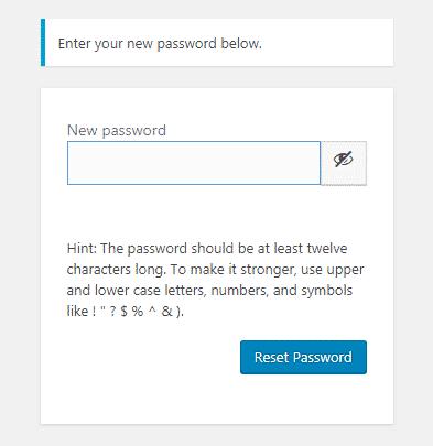 Lưu ý khi đăng nhập wordpress 4