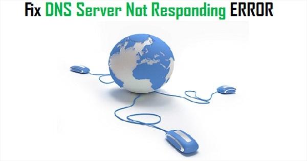 nhân gây lỗi DNS server isn't responding
