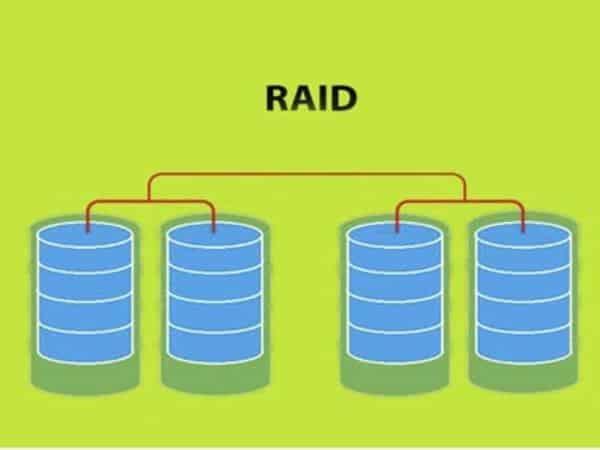 Raid hoạt động dựa trên việc kết nối một dãy ổ cứng có chi phí thấp với nhau để tạo nên một thiết bị có dung lượng lớn