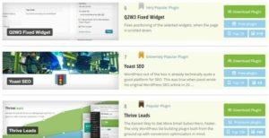 Sử dụng các công cụ để check Plugin của website hay blog