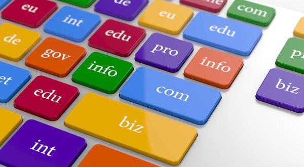Sử dụng .com khi đăng kí tên miền