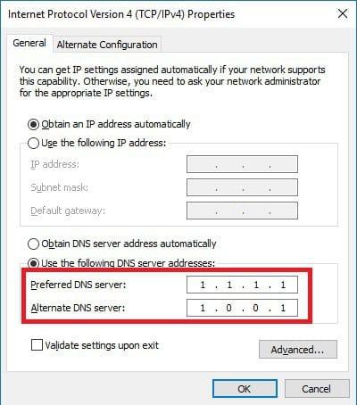 Thay đổi DNS Google cho máy tính 5