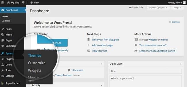 Cách sửa lỗi 404 not found bằng cách vô hiệu hóa WordPress Theme và Plugin