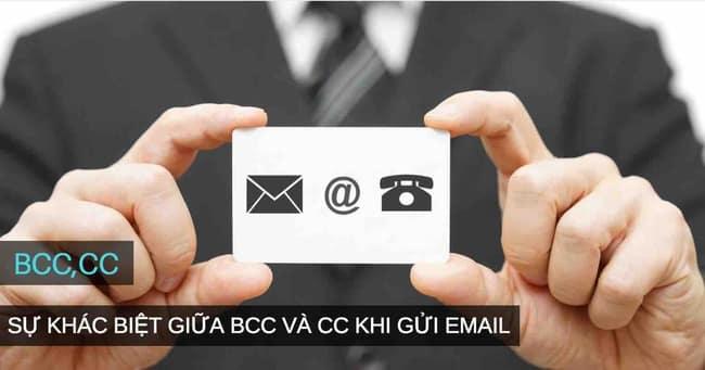 CC và BCC email là gì?