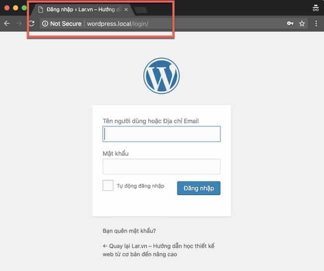Đăng nhập lại hay dùng quyền khôi phục mật khẩu trên trang đăng nhập khi gặp lỗi http code 401