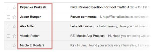 Địa chỉ email cũng như là 1 phần công việc