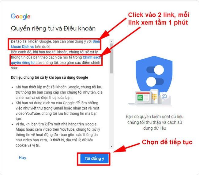 Dừng lại đọc 2 điều khoản của Google để không bị nghi ngờ spam