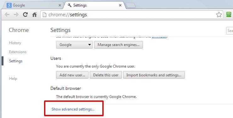 Khắc phục lỗi 400 bad request bằng cách xóa Cookie của website trên trình duyệt Chrome 1