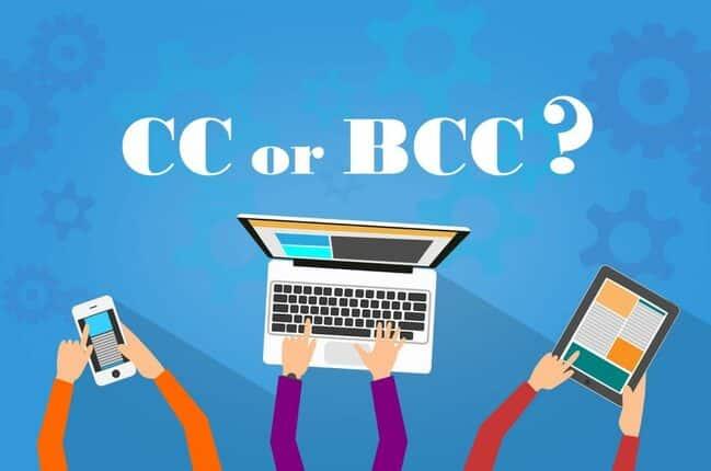 Khi muốn công khai danh tính người nhận thì dùng CC email và bảo mật danh tính thì dùng BCC email