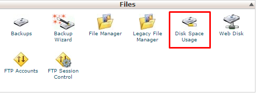 Kiểm tra dung lượng hosting  5