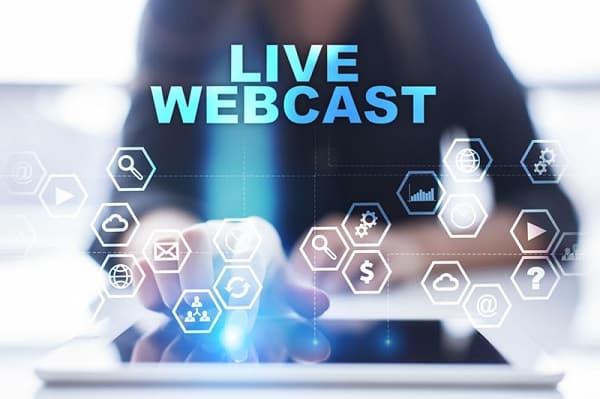 Live webcast sẽ yêu cầu một số thiết bị bổ trợ trong đó có một máy tính cố định
