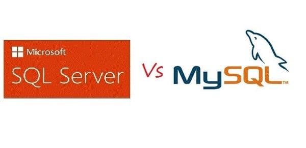 Bảng so sánh SQL server vs MySQL
